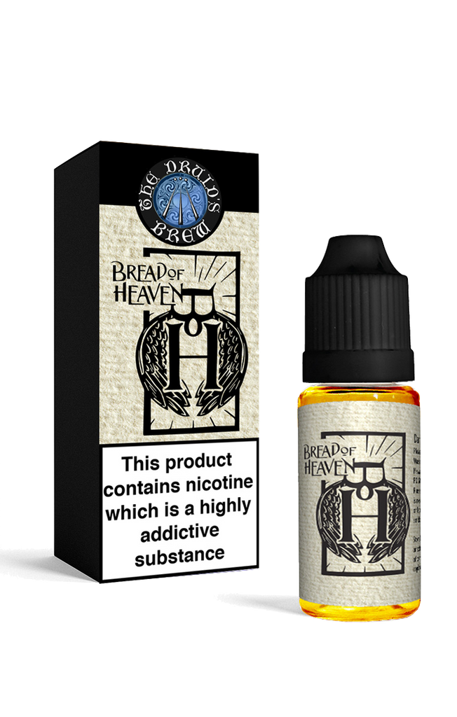 Bread of Heaven- 18mg for short fill top up. Contains Nicotine