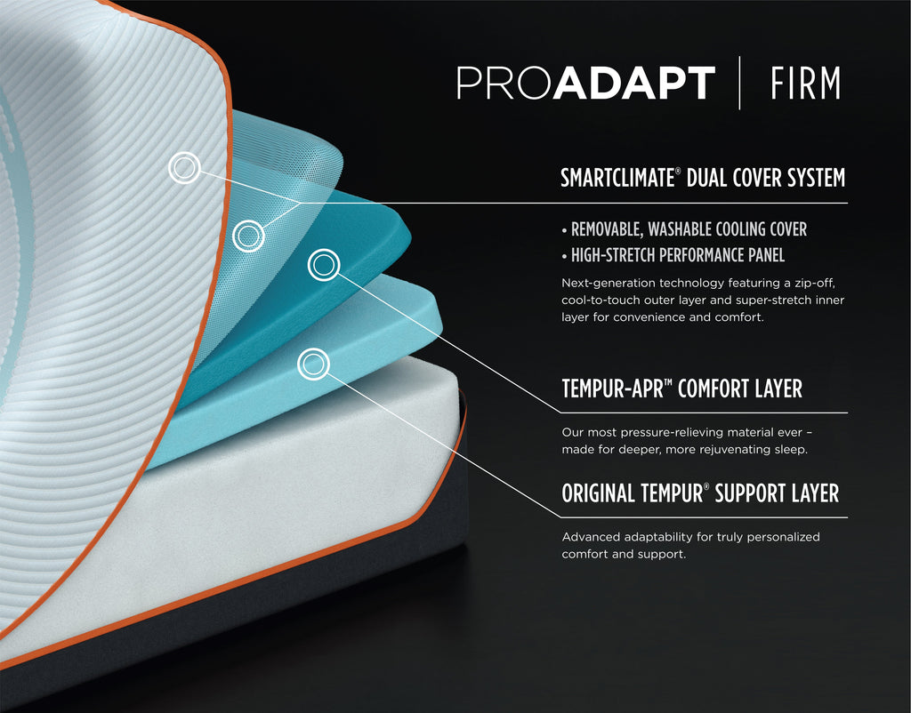 TEMPUR-PEDIC PROADAPT Series - Firm