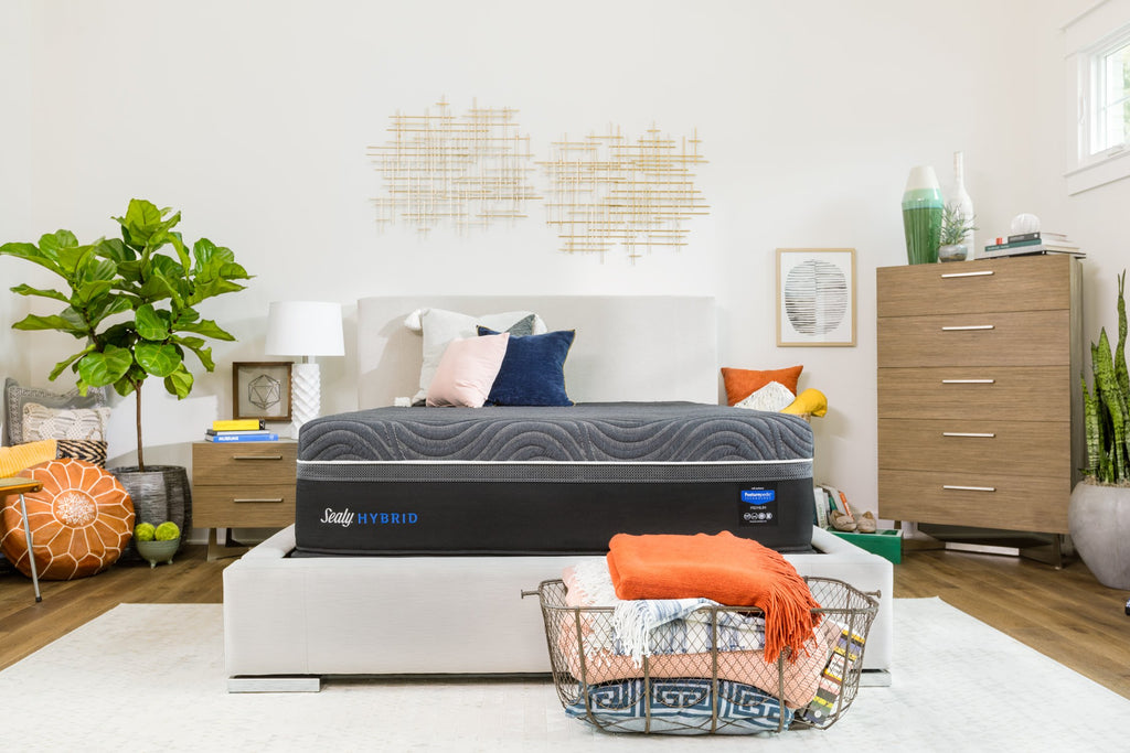 Sealy-Hybrid Premium Series-Silver Chill Plush Mattress