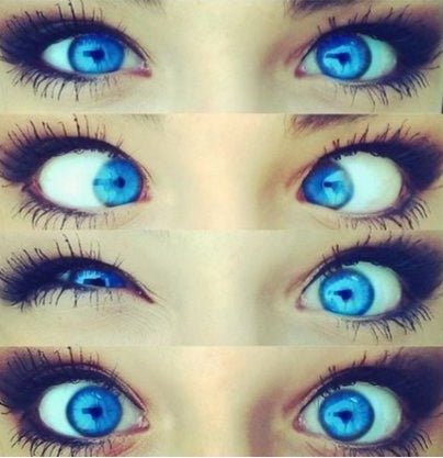 Blue Contact Lenses
