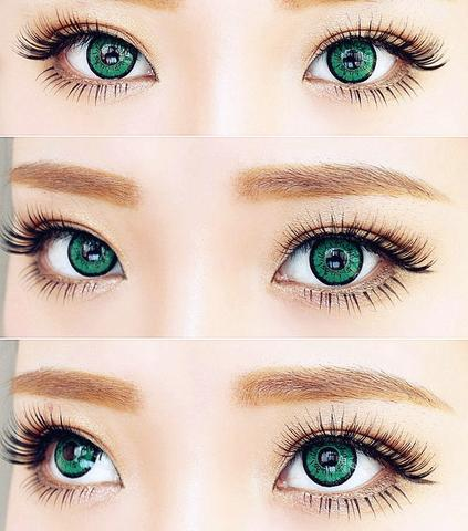 Green Contact Lenses