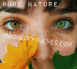 PURE NATURE 8 Choices Colored Contact Lens Natural-Pure Nature-UNIQUELY-YOU-EYES
