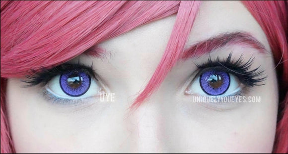 Purple cosplay colored contacts sale affordable safe