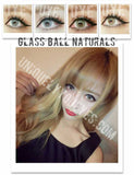 Glass Ball Blue Super Naturals Colored Contacts