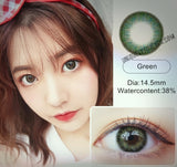 HIDROCOR STYLE 13 COLORS AVAILABLE NATURAL LOOK 1 Tone Lenses