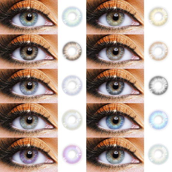 PURE NATURE 8 Choices Colored Contact Lens Natural