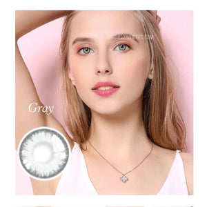 Pro Series Crystal Gray Colored Contacts