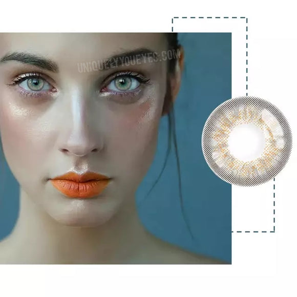 Hami Queen Gray Naturally Beautiful colored contacts