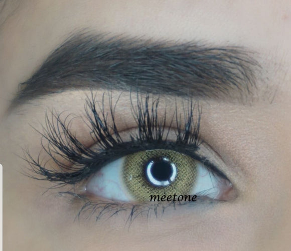 Aurora Hidrocor Hazel Brown Natural Colored Contacts-Hidrocor/Aurora-UNIQUELY-YOU-EYES