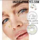 European Natural Gray Grey Coloured contact-European Naturals-UNIQUELY-YOU-EYES