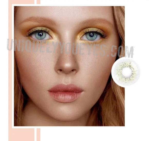 MOST POPULAR BEST SELLER Ocean Air Sky Gray Colored Contact Lens