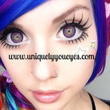 3 TONE AMETHYST Violet Colored contacts-3 TONE-UNIQUELY-YOU-EYES