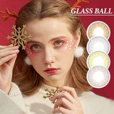 Glass Ball Mauve Pink Super Naturals