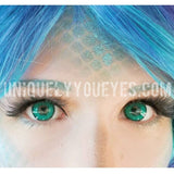 Shining star TURQUOISE BLUE-GREEN DOLLY for BIG EYES-Shining Star-UNIQUELY-YOU-EYES