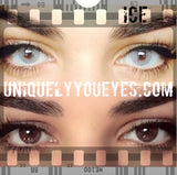 NEW! Hidrocor Icey Gray COLORED CONTACTS-Hidrocor-UNIQUELY-YOU-EYES