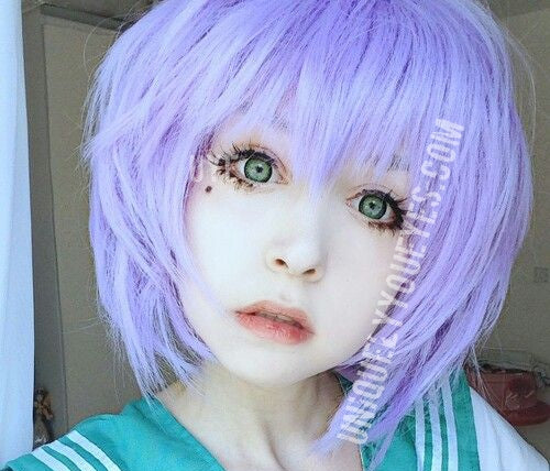 LIGHT Green COSPLAY DOLLY CONTACTS