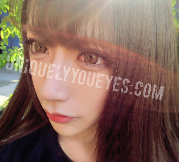 Shining Star Light Brown Colored Contacts-Shining Star-UNIQUELY-YOU-EYES