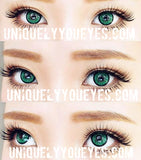 Shining Star GEM GREEN Big Eyes Colored Contacts-Shining Star-UNIQUELY-YOU-EYES