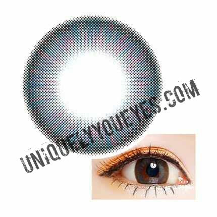 New Arrival CAPPUCCINO Natural blue Colored Contacts