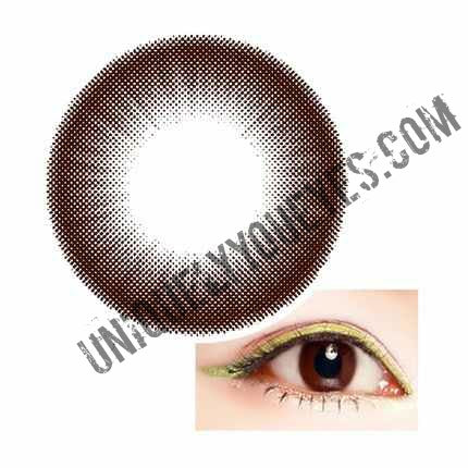 New Arrival CAPPUCCINO chocolate brown Natural Contact Lenses