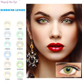 HIDROCOR STYLE 13 COLORS AVAILABLE NATURAL LOOK 1 Tone Lenses-Hidrocor-UNIQUELY-YOU-EYES