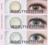 Glass Ball Green Super Naturals Colored Contacts-Glass Ball-UNIQUELY-YOU-EYES