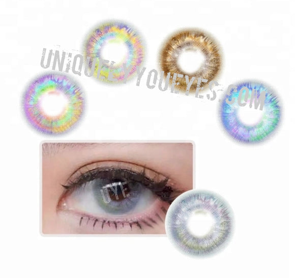 7-tone Rio Colored Contacts Gorgeous Unicorn lense