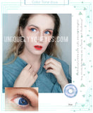 NEW BLUE NATURAL COLORTONE COLORED CONTACT LENSES-Colortone-UNIQUELY-YOU-EYES