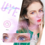 NEW Pink NATURAL COLORTONE colored contacts-Colortone-UNIQUELY-YOU-EYES