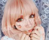 SHINING STAR Peach Orange Tangerine YellowBrown COSPLAY DOLLY CONTACTS-Shining Star-UNIQUELY-YOU-EYES