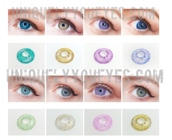 NEW PRODUCT NATURAL COLORTONE COLORED CONTACTS 8 COLORS