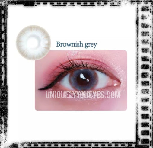 New PURE NATURE Gray-Brown Coloured Contacts-Pure Nature-UNIQUELY-YOU-EYES