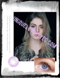 ELECTRICALLY NATURAL ELECTRIC SKY PURPLE VIOLET COLORED CONTACT LENS GOSSIP GIRL-GOSSIP GIRL-UNIQUELY-YOU-EYES