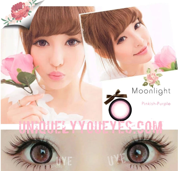 MOONLIGHT PINK FOR BIG EYES COLORED CONTACT LENSES-Moonlight-UNIQUELY-YOU-EYES