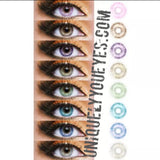 MOST POPULAR Gray NATURAL colored contacts COLORTONE-Colortone-UNIQUELY-YOU-EYES