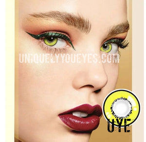SALE ELEMENT Storm Cosplay Contact Lenses Yellow-Element Storm-UNIQUELY-YOU-EYES