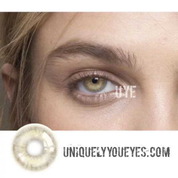 Flax Brown NATURAL COLORTONE Colored Contacts-Colortone-UNIQUELY-YOU-EYES