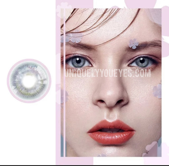 SALE colored Contacts Grey Prism Gray-Rio 7 tone-UNIQUELY-YOU-EYES