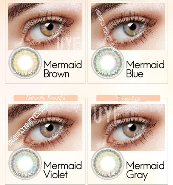 NEW ARRIVAL MERMAID SERIES COLORED CONTACT LENSES