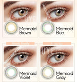 NEW ARRIVAL MERMAID SERIES COLORED CONTACT LENSES-Mermaid Series-UNIQUELY-YOU-EYES
