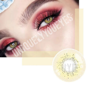 OCEAN SANDY BROWN Natural Colored Contacts-Hidrocor-UNIQUELY-YOU-EYES