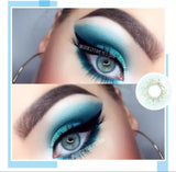 Dark gray anime cosplay kawaii contact lens