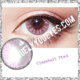 Glass Ball Mauve Pink Super Naturals-Glass Ball-UNIQUELY-YOU-EYES