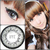 ♡PRE-ORDER☆Shining Star Dark Gray Big Eyes Colored Contacts-Shining Star-UNIQUELY-YOU-EYES