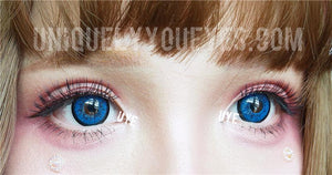BIG EYED BLUES Dolly Dark BLUE colored contacts-Shining Star-UNIQUELY-YOU-EYES