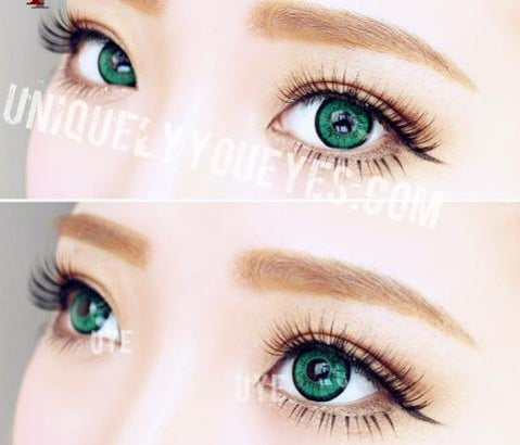 SHINING STAR GEMSTONE Green Colored Contacts-Shining Star-UNIQUELY-YOU-EYES