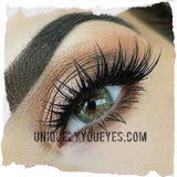 NEW NATURAL Deep COLOR Green Blends Coloured contacts-Fc-22-UNIQUELY-YOU-EYES