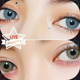 ☆PREORDER♡Natural Colored Cosmetic Contacts Ocean Sapphire Blue SEA Green HIDROCOR-Hidrocor Ocean-UNIQUELY-YOU-EYES
