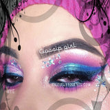 ELECTRICALLY NATURAL PINK CURRENT COLORED CONTACT LENS GOSSIP GIRL