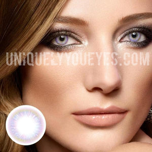 NEW ARRIVAL Rainbow NEON Pink Lush COLORED CONTACTS-Rainbow Neon-UNIQUELY-YOU-EYES